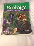 Book Cover Biology God's Living Creation Third Edition 10 (A Beka Book Science Series)