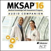 Book Cover MKSAP 16 Audio Companion: Medical Knowledge Self-Assessment Program