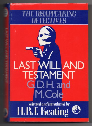 Book Cover Last Will and Testament (Disappearing Detectives)