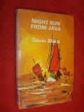 Book Cover Night Run to Java