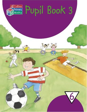 Book Cover Year 6 Pupil Book: Bk. 3 (Collins Primary Maths)