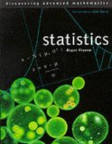 Book Cover Statistics (Discovering Advanced Mathematics)
