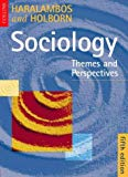 Book Cover Sociology: Themes and Perspectives