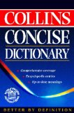 Book Cover Collins Concise English Dictionary