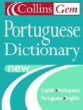 Book Cover Collins Gem Portuguese Dictionary English-Portuguese, Portuguese-English, Pocket size