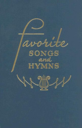 Book Cover Favorite Songs and Hymns: A Complete Church Hymnal