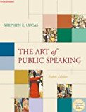 Book Cover The Art of Public Speaking, 8th Edition