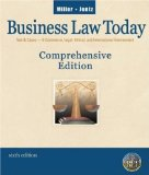 Book Cover Business Law Today, Comprehensive (6th Edition) Text Only