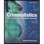Book Cover Criminalistics : An Introduction to Forensic Science - Textbook Only