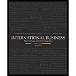 Book Cover International Business: The Challenge of Global Competition with CD