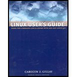 Book Cover Linux User's Guide : Using the Command Line and Gnome With Red Hat Linux 9.0 - Textbook Only