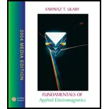 Book Cover Fundamentals of Applied Electromagnetics, 2004 Media Edition - Textbook Only