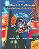 Book Cover The Heart of Mathematics: An Invitation to Effective Thinking- Text Only
