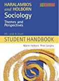 Book Cover Sociology Themes and Perspectives: AS and A-level Student Handbook
