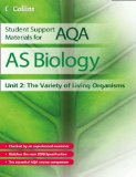 Book Cover AS Biology Unit 2: The Variety of Living Organisms (Student Support Materials for AQA)
