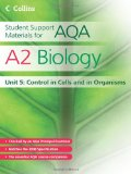 Book Cover A2 Biology Unit 5: Control in Cells and in Organisms (Student Support Materials for AQA)