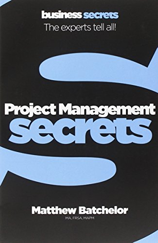 Book Cover Project Management (Collins Business Secrets)