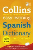 Book Cover Collins Easy Learning Spanish Dictionary (Collins Easy Learning Dictionaries) (Spanish and English Edition)