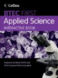 Book Cover Interactive Book (BTEC First Applied Science)