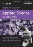 Book Cover Teacher Pack (BTEC First Applied Science)