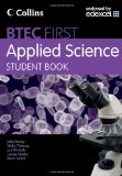 Book Cover Student Book (BTEC First Applied Science)