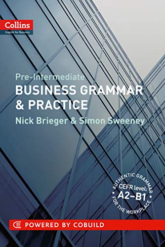Book Cover Pre-Intermediate Business Grammar & Practice (Collins English for Business)