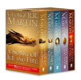 Book Cover A Song of Ice and Fire, Books 1-4 (A Game of Thrones/A Clash of Kings/A Storm of Swords/A Feast For Crows)