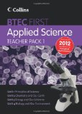 Book Cover New BTEC Applied Science: Teacher Pack 1: Principles of Applied Science