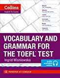 Book Cover Vocabulary and Grammar for the TOEFL Test (Collins English for the TOEFL Test)