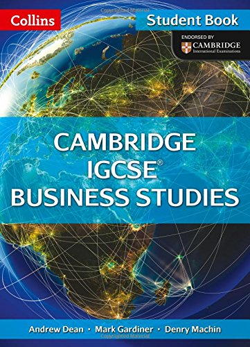 Book Cover Cambridge IGCSE ® Business Studies Student Book (Collins IGCSE Business Studies)