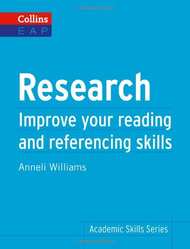 Book Cover Research: Improve Your Reading and Referencing Skills (Collins English for Academic Purposes)