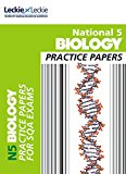Book Cover National 5 Biology Practice Exam Papers (Practice Papers for SQA Exams)