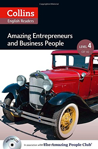 Book Cover Collins Elt Readers — Amazing Entrepreneurs & Business People (Level 4) (Collins English Readers)