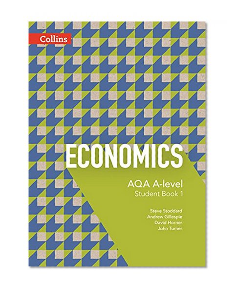 Book Cover AQA A-Level Economics — Student Book 1