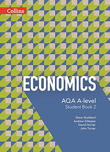 Book Cover AQA A-Level Economics — Student Book 2