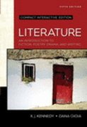 Book Cover Literature: An Introduction to Fiction, Poetry, Drama, and Writing, Compact Edition, Interactive Edition
