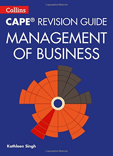 Book Cover Collins Cape Revision Guide - Management of Business (Collins CAPE Management of Business)