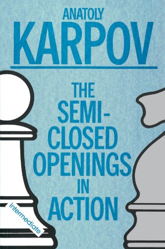 Book Cover SEMI-CLOSED OPENINGS IN ACTION (INTERMEDIATE)