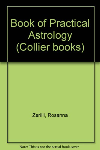 Book Cover Book of Practical Astrology