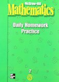 Book Cover McGraw Hill Mathematics: Daily Homework Practice : Grade 2