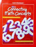 Book Cover Connecting Math Concepts Level A, Workbook 1