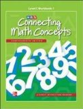 Book Cover Connecting Math Concepts Level C, Workbook 1