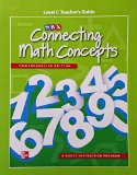 Book Cover Connecting Math Concepts Level C, Additional Teacher's Guide