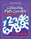 Book Cover Connecting Math Concepts Level E, Additional Teacher Guide