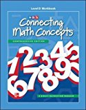 Book Cover Connecting Math Concepts Level D, Workbook