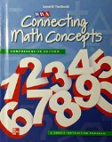 Book Cover Connecting Math Concepts Level D, Textbook