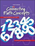 Book Cover Connecting Math Concepts Level E, Textbook
