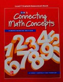 Book Cover Connecting Math Concepts Level F, Student Assessment Book