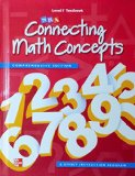 Book Cover Connecting Math Concepts Level F, Student Textbook
