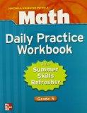 Book Cover Macmillan/McGraw-Hill Math, Grade 5, Daily Practice Workbook (MMGH MATHEMATICS)